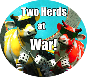 Two Herds At War!